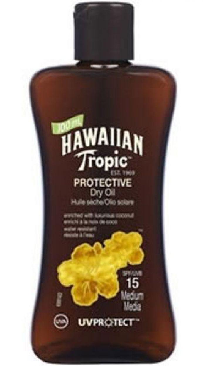 HAWAIIAN TROPIC BRONZING OIL - 100ml FPS 15